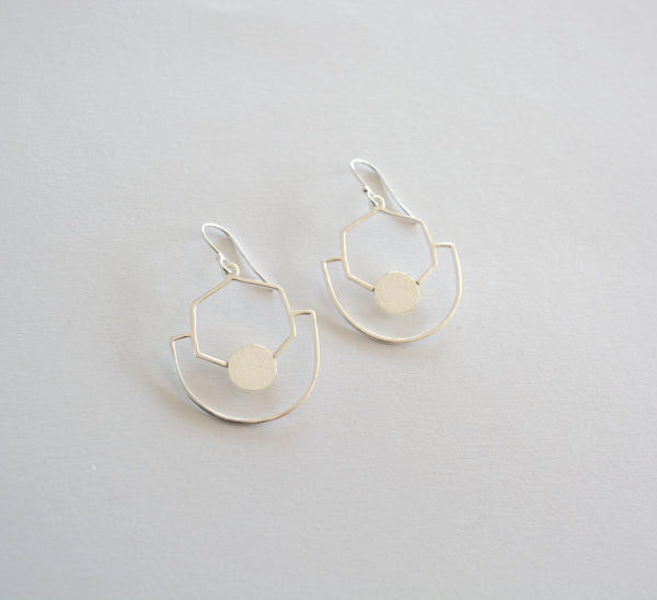 Sahara Earrings - Silver