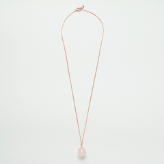 Sphere Necklace - Rose Quartz