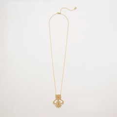 Saint-Etienne Lace Necklace Gold