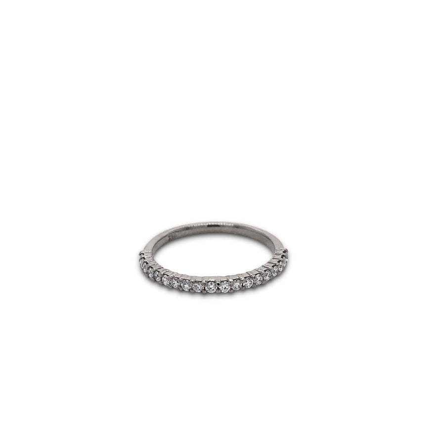 Diamond Band 18ct Gold