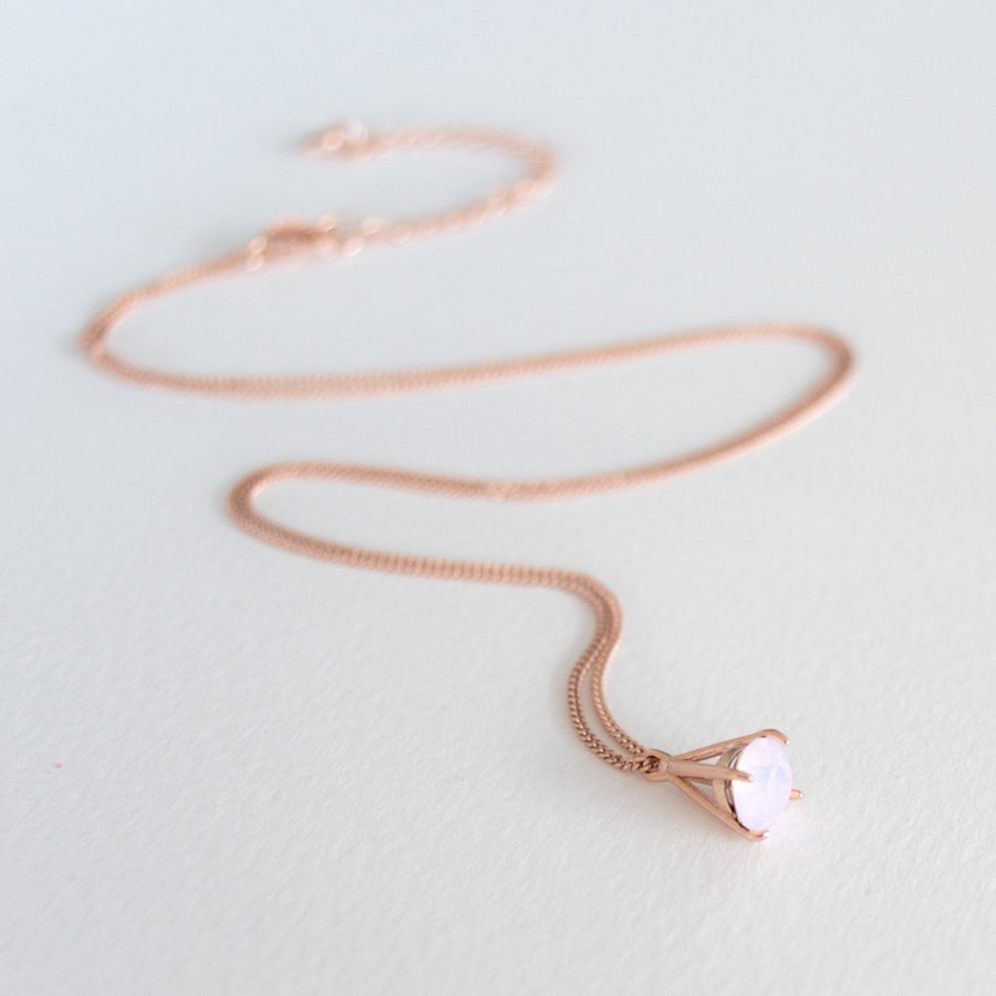 Great Heights Necklace - Rose Gold