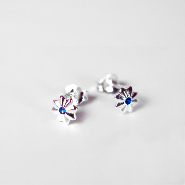 Petite Royal Stars - Sterling Silver