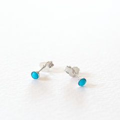 Simple Turquoise Studs