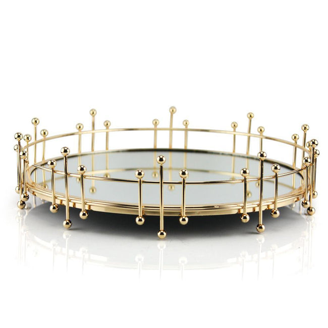 Gold Display Tabletop Tray