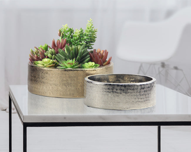Resonance Metal Planter