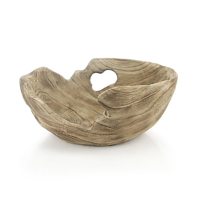 Handcrafted Wooden Bowl and Platter