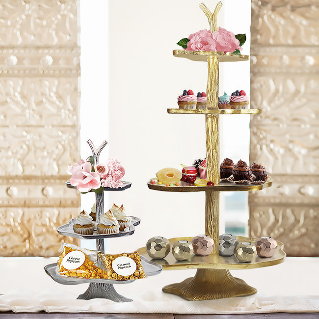 Tiered Cake Stand Serving Tray