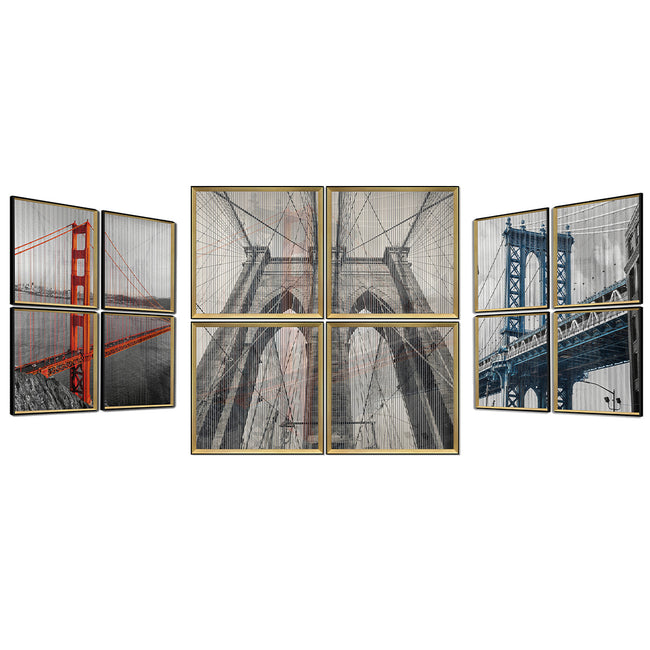 Kinetic Wall Art Set /Wall Decor