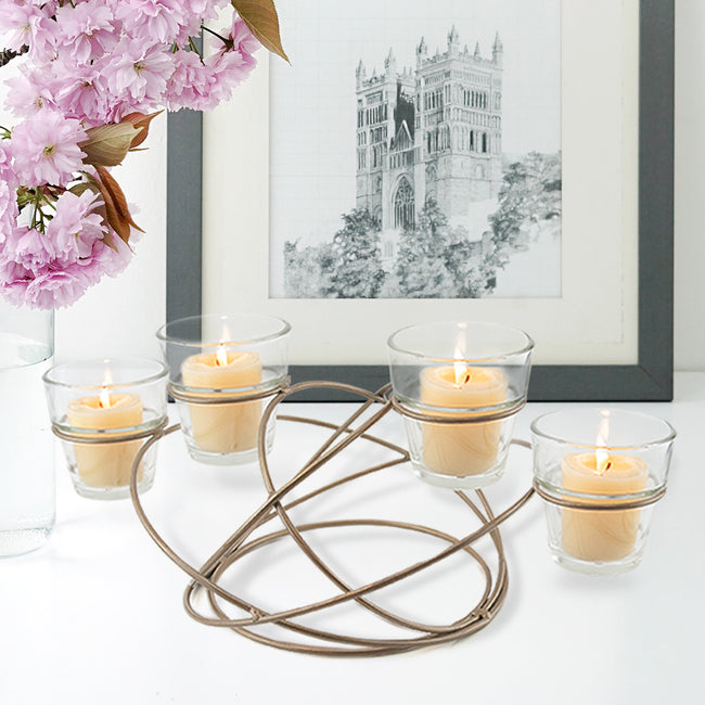 Atomic Multi-Candle Holder