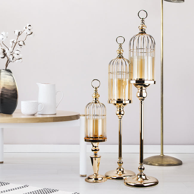 Birdcage Candle Stand Candle Holder