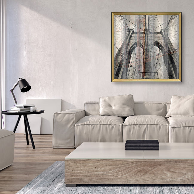 Kinetic Wall Art / Wall Decor - Bridge