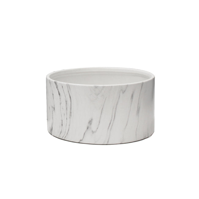 Indoor Ceramic Marble Dish Garden