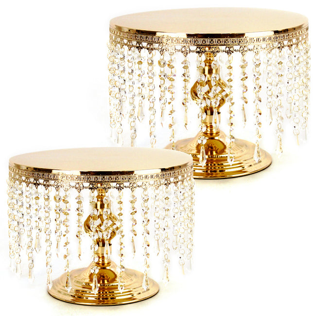Hanging Crystal Cake Stand Serving Tray