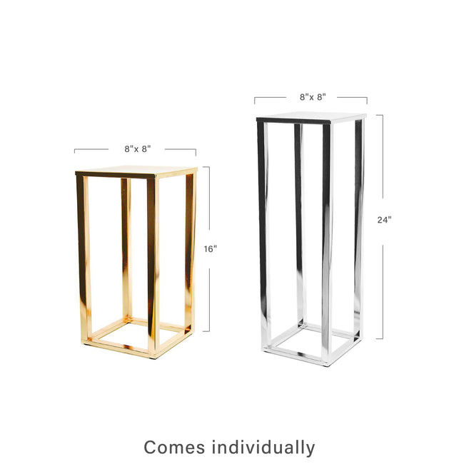 Electroplated Metal Stand