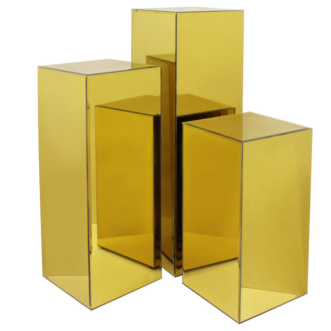 Mirror Block Column / Pedestal