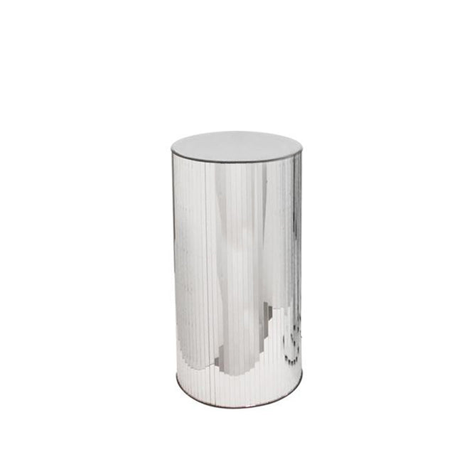 Mirrored Cylindrical Column/Pedestal