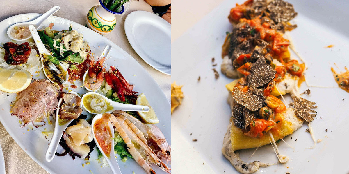 The epicurean Tania Tse shows us how to indulge on some of Amalfi's finest foods