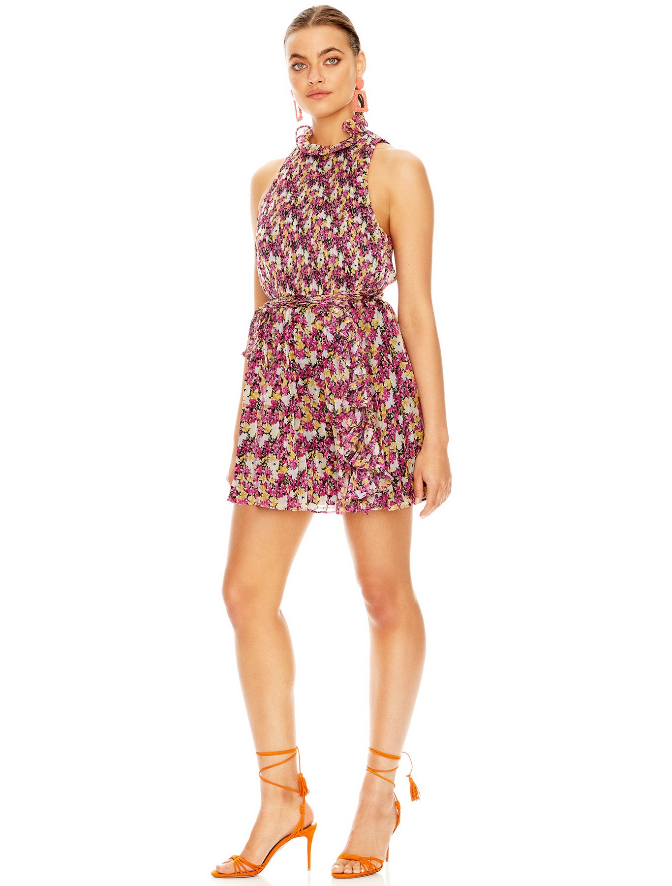 SHAKE IT OUT MINI DRESS