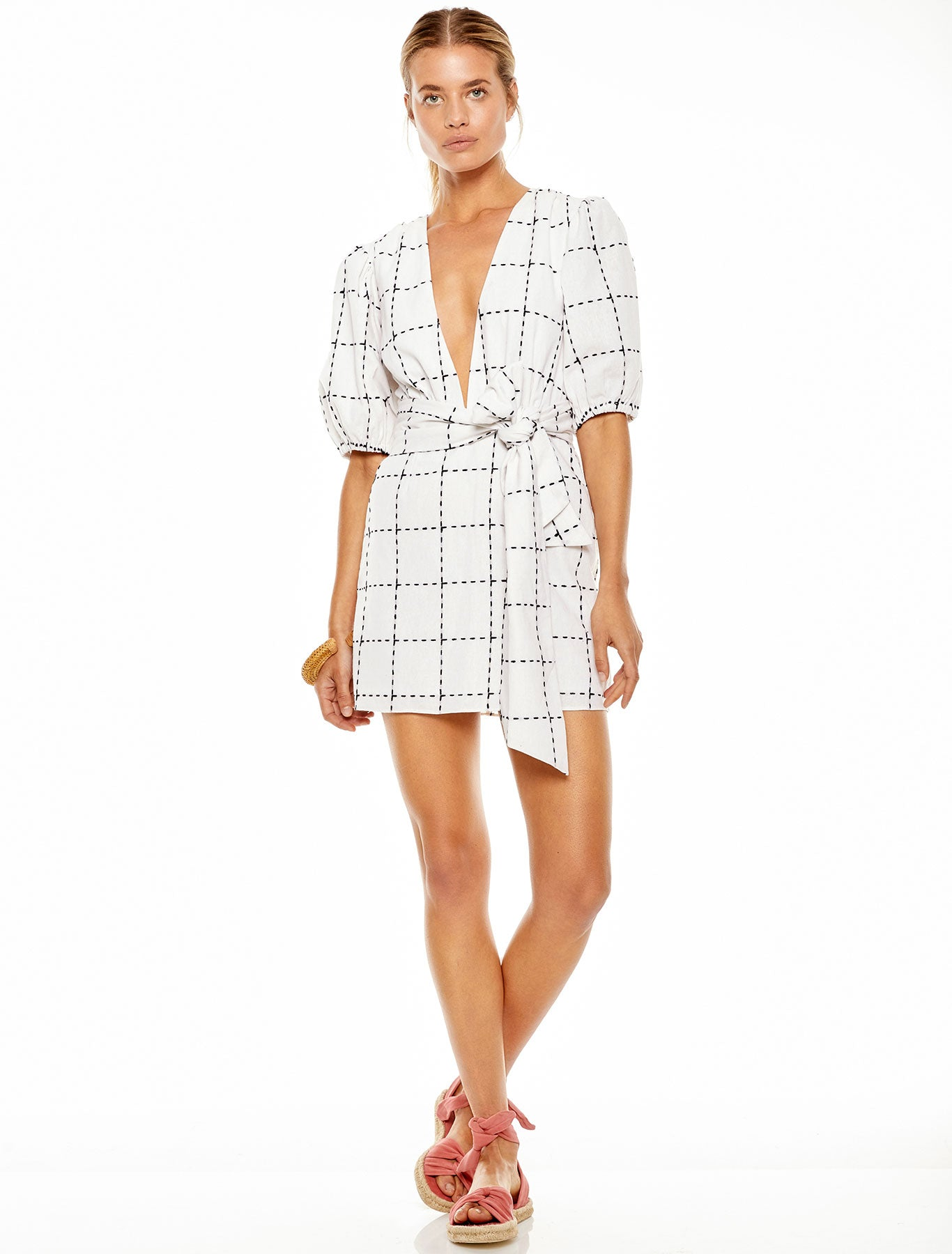 DIALOGUE MINI DRESS