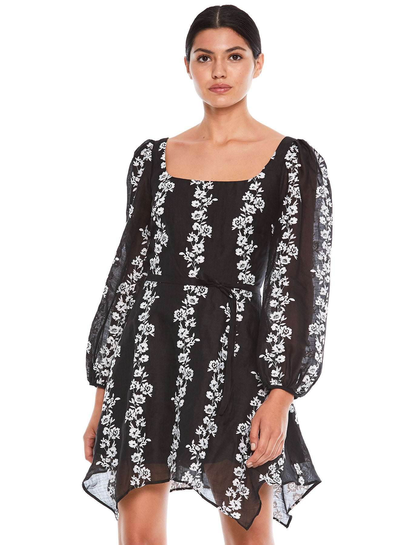 WHIMSY L/S MINI DRESS