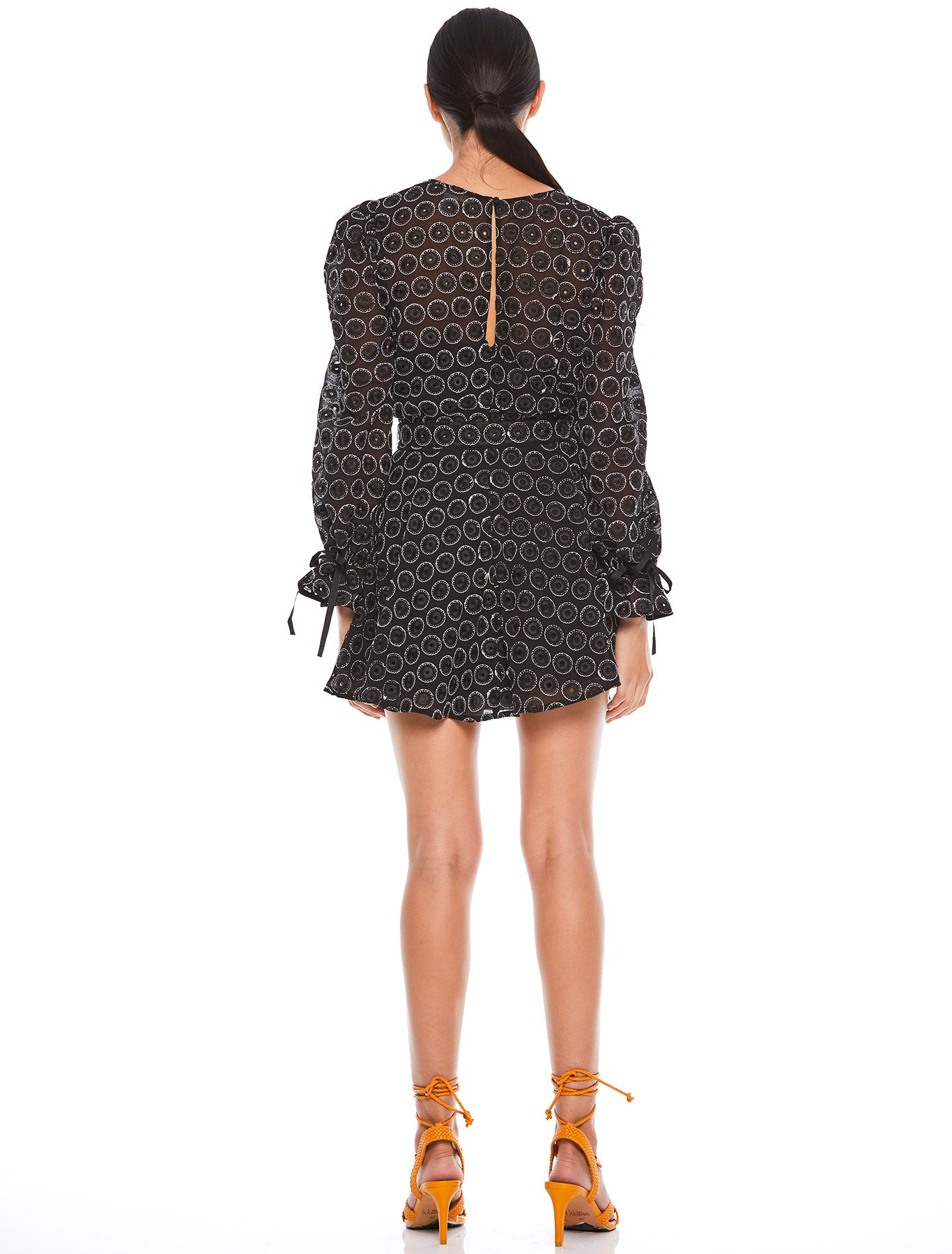 EBONY L/S MINI DRESS