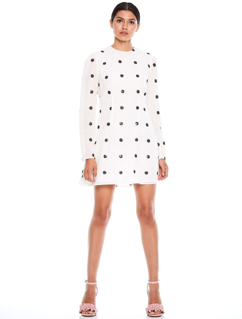 FORGET ME NOT  L/S MINI DRESS