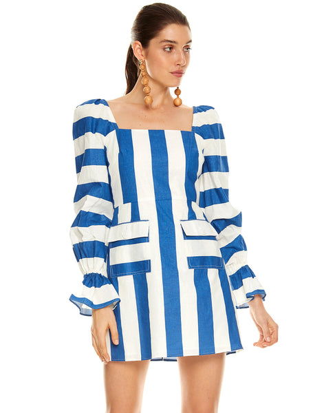SEA BOUND L/S MINI DRESS