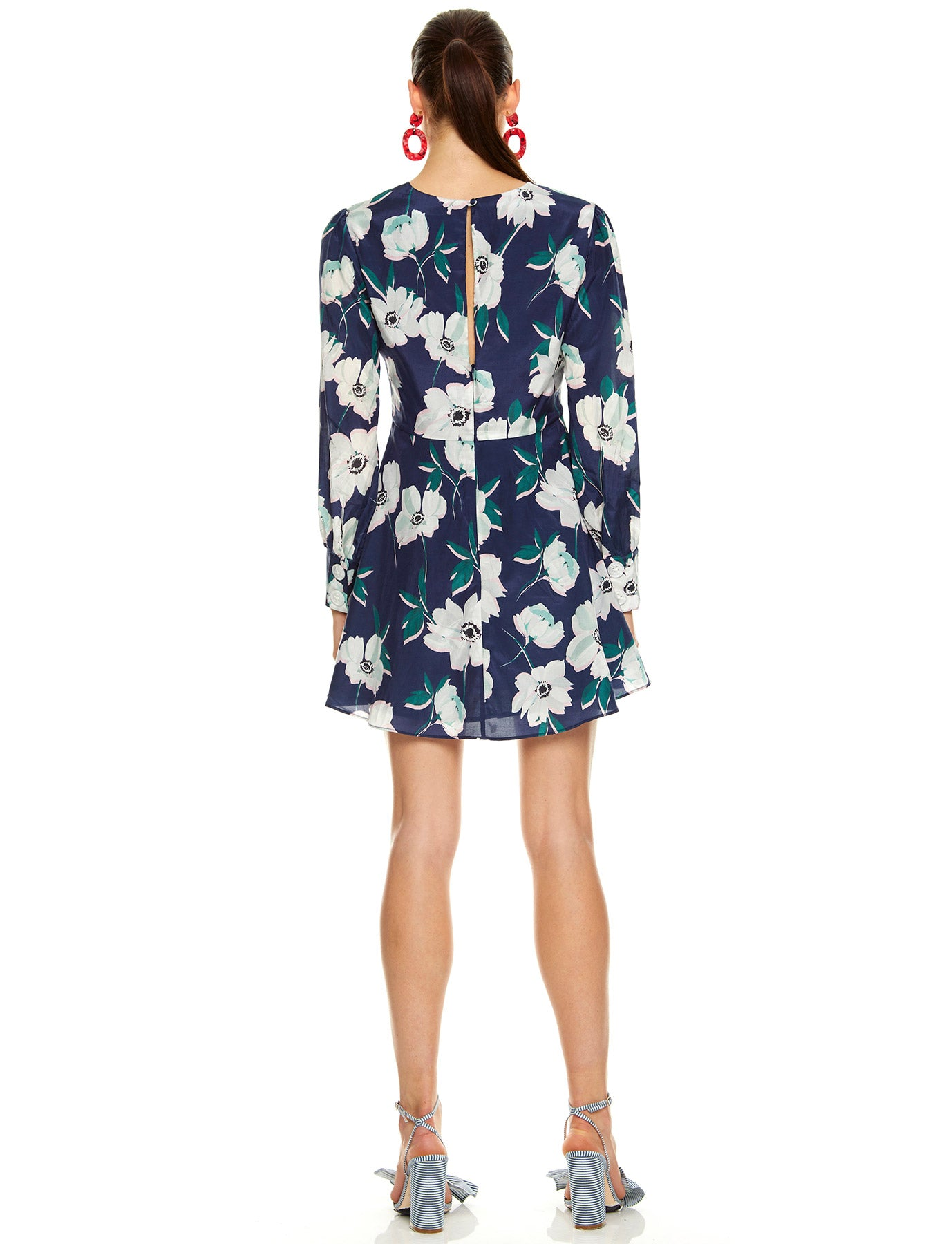 FULL BLOOM L/S MINI DRESS
