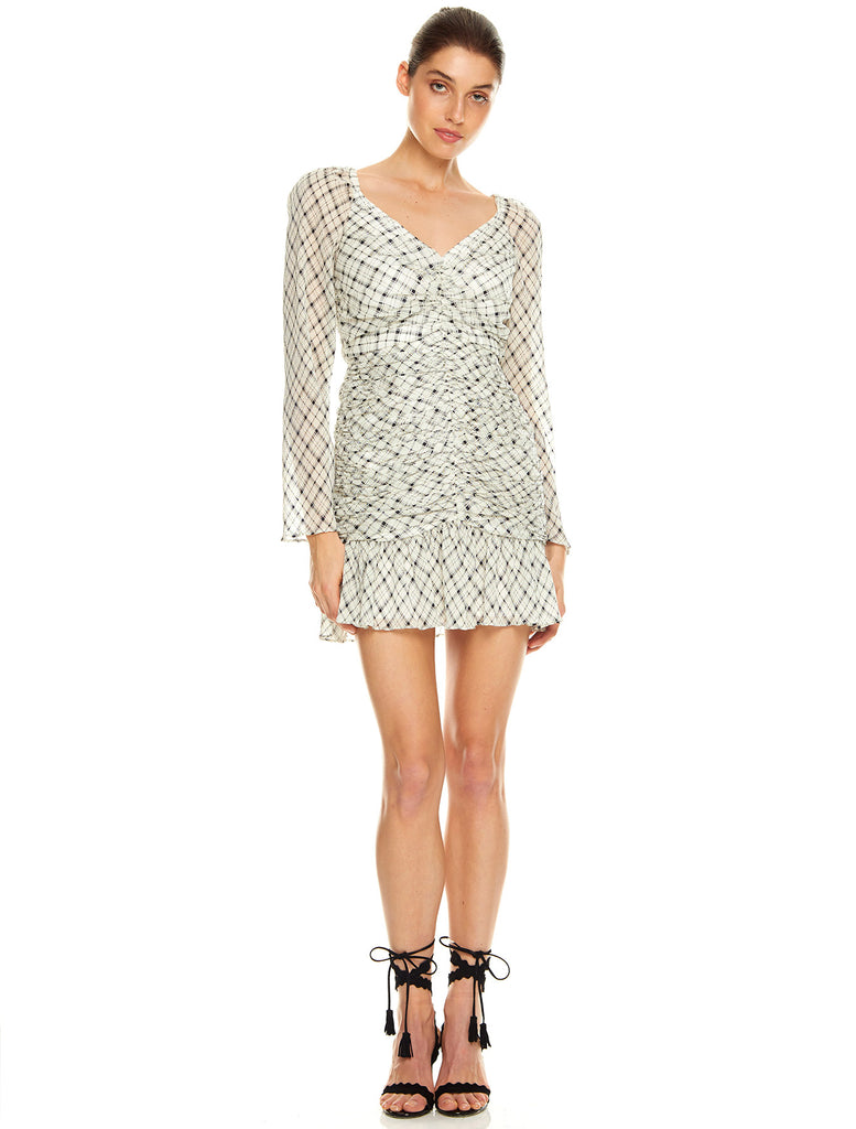 WILD HEARTS L/S MINI DRESS