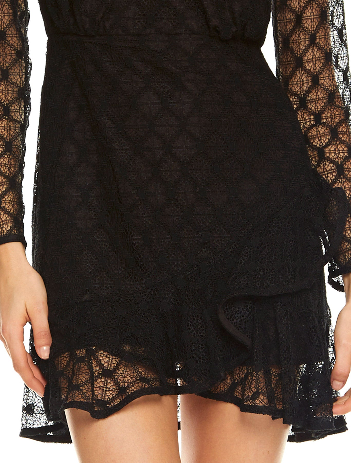 BREAK FREE L/S MINI DRESS