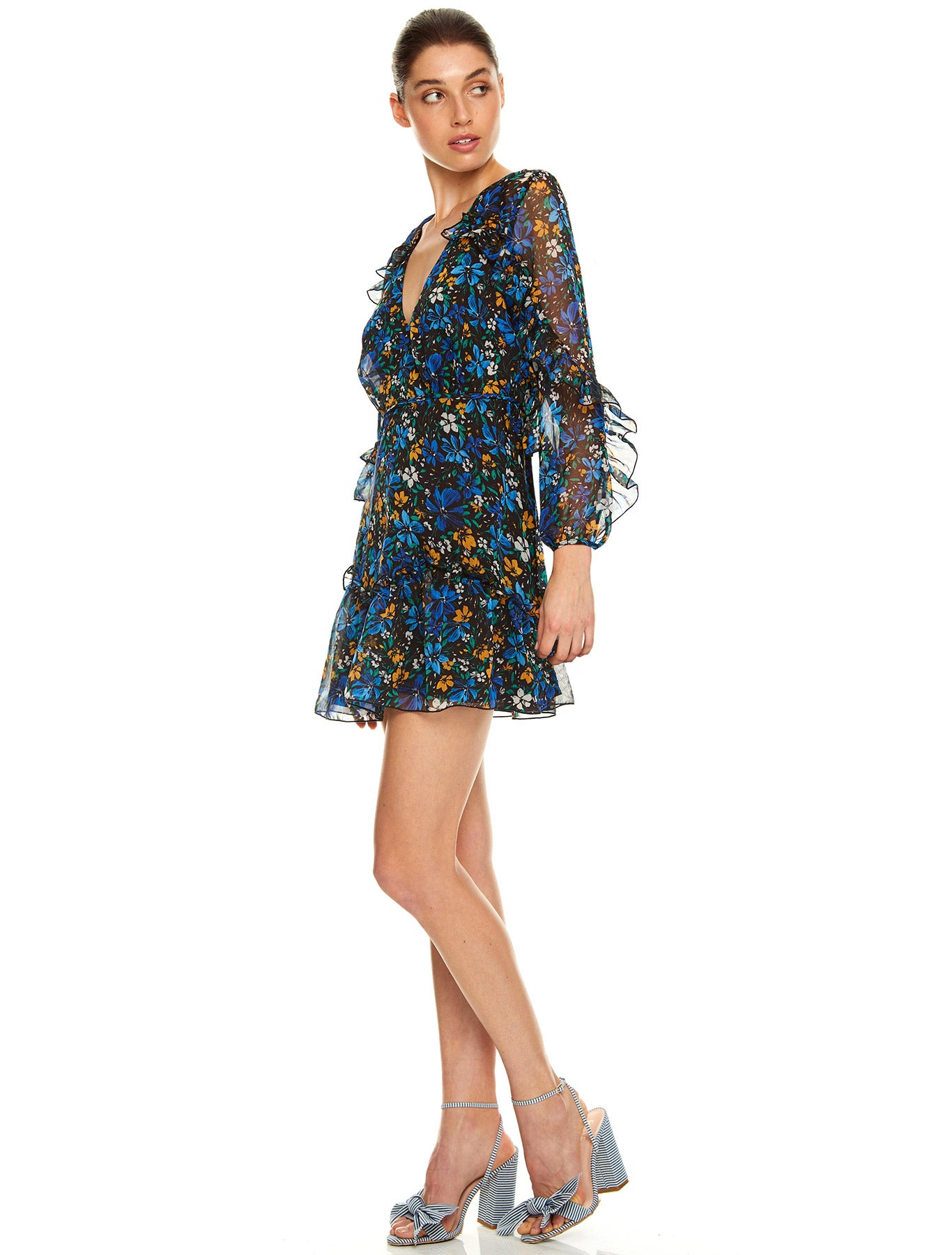 HIGHER LOVE L/S MINI DRESS