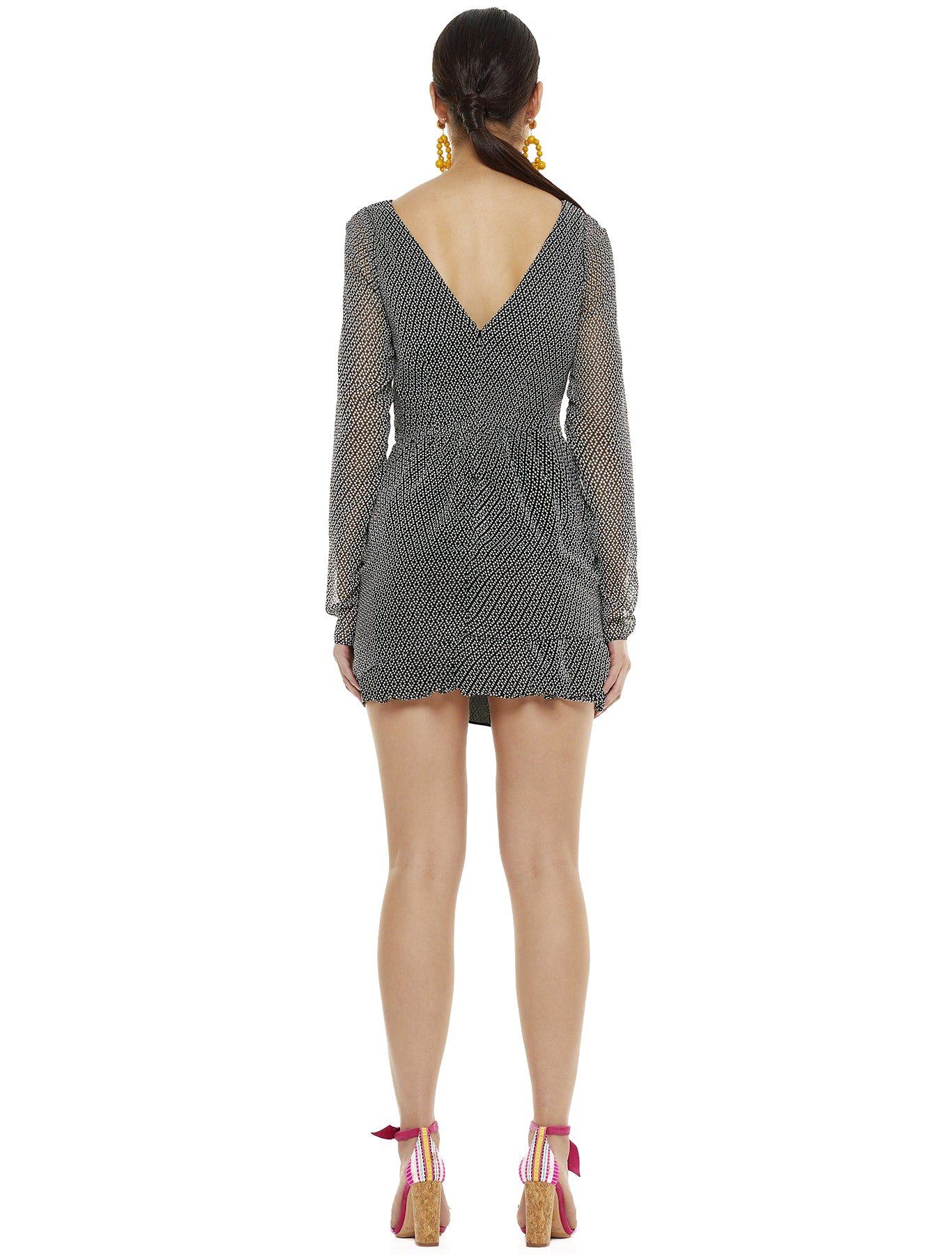 VISIONARY LS MINI DRESS
