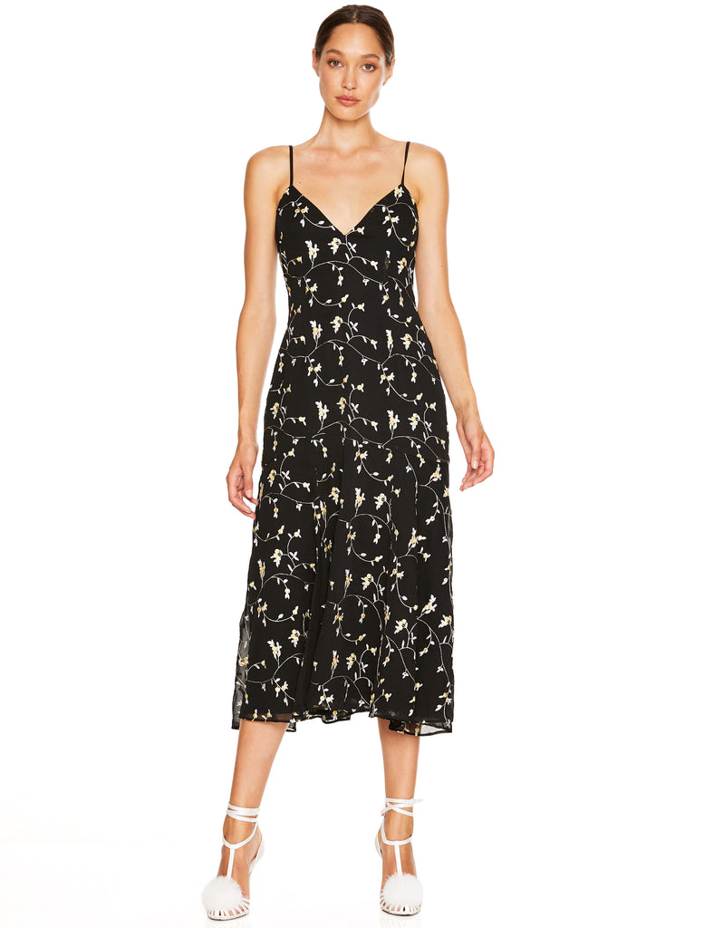 NIGHT SPARK MIDI DRESS