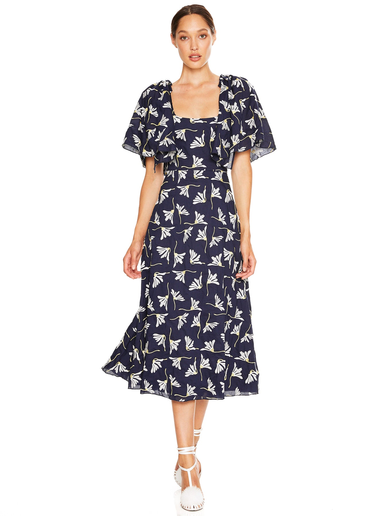 THE BIRDCAGE MIDI DRESS