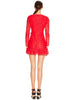 ROUGE LURE L/S MINI DRESS