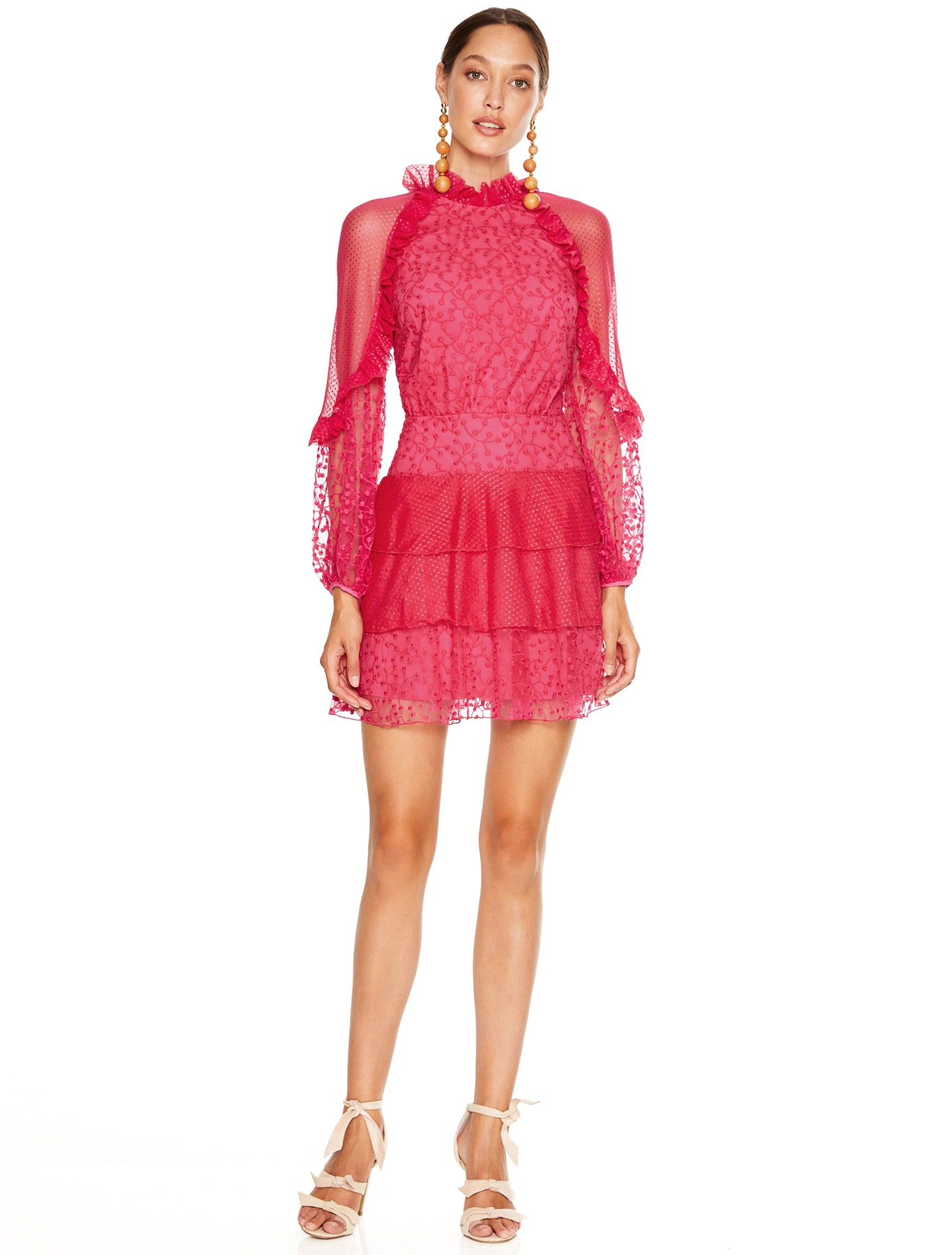 PRE ORDER | FUCHSIA DELIGHT MINI DRESS