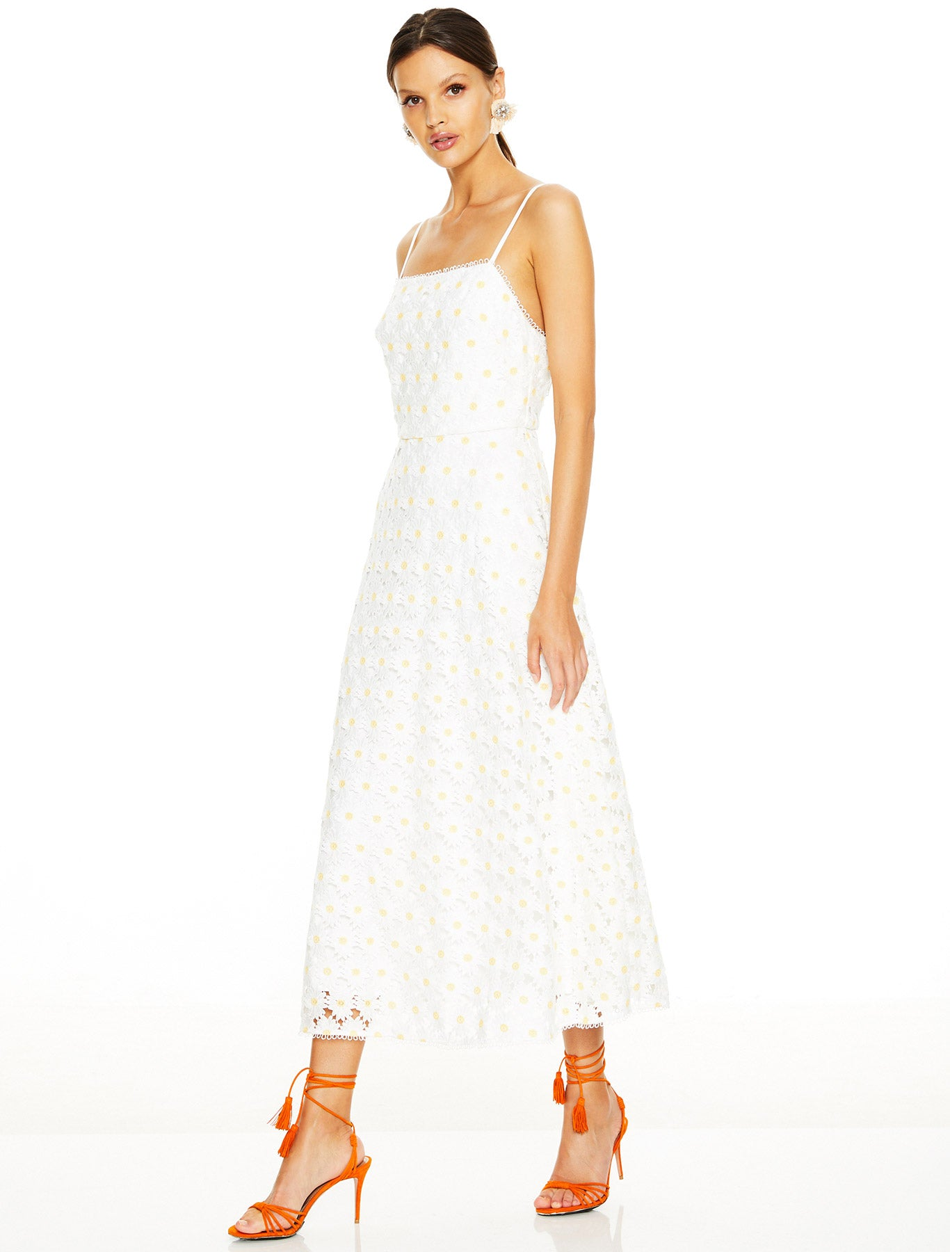 SPRITZER MIDI DRESS