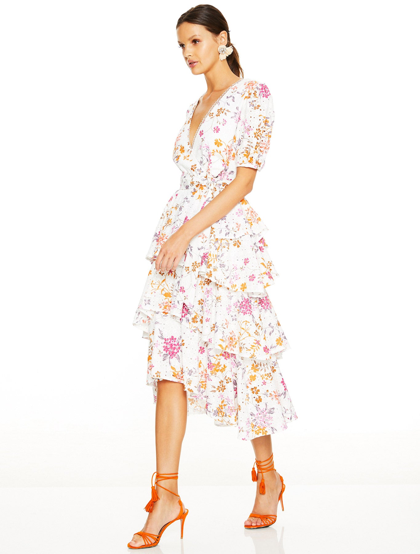 PRE ORDER | JASMINE VINES MIDI DRESS