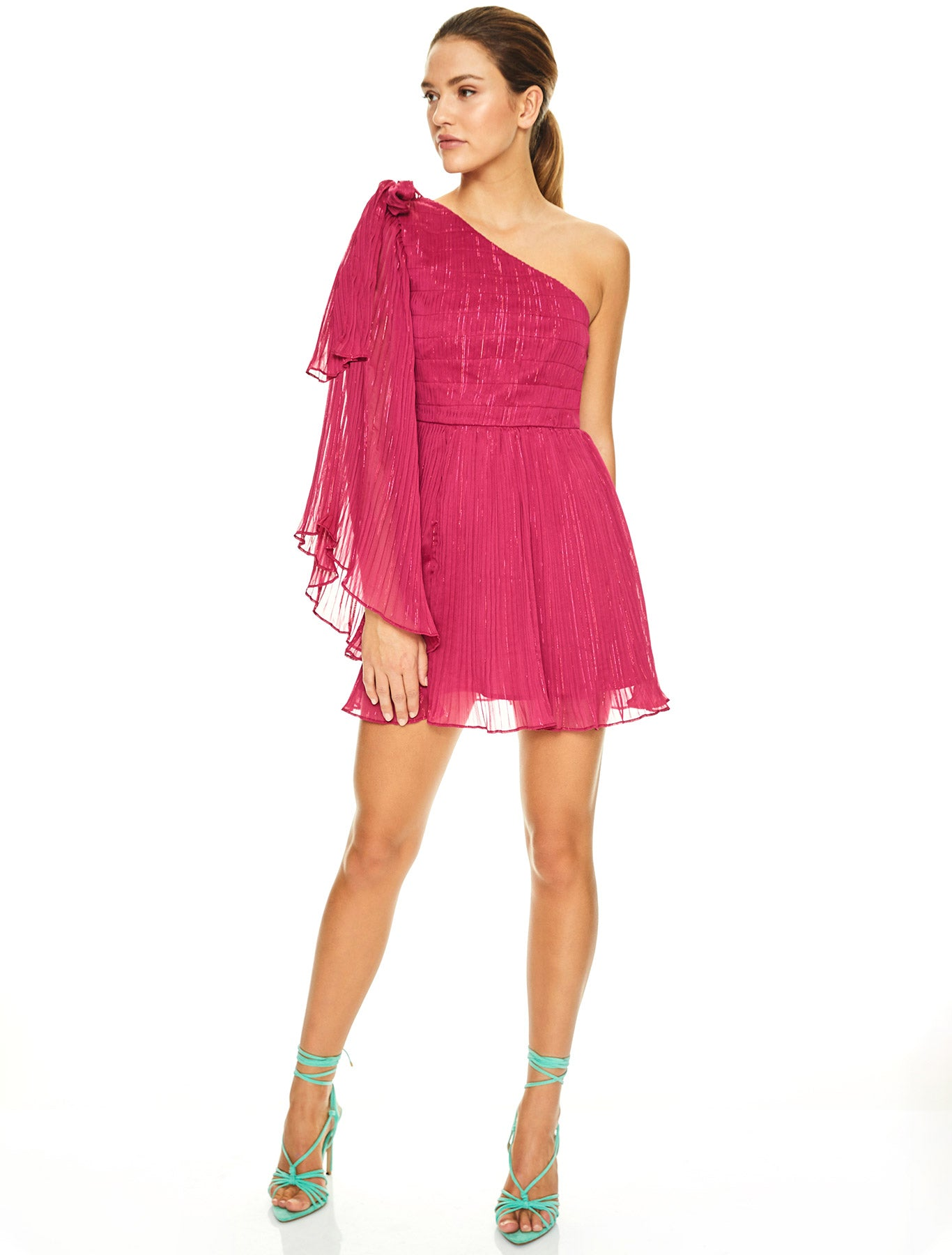 SWEET SANGRIA MINI DRESS