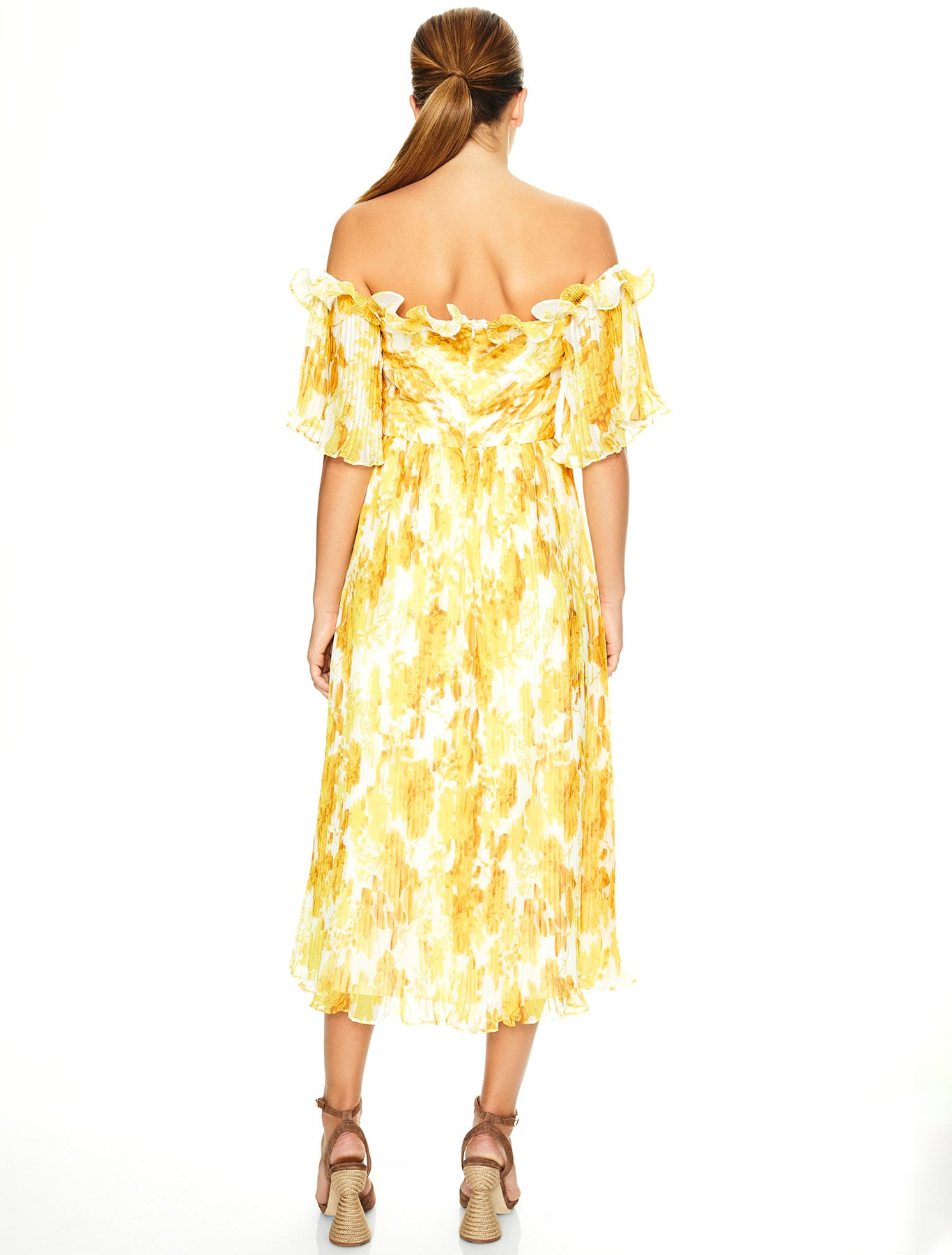 SUNSHINE MIDI DRESS