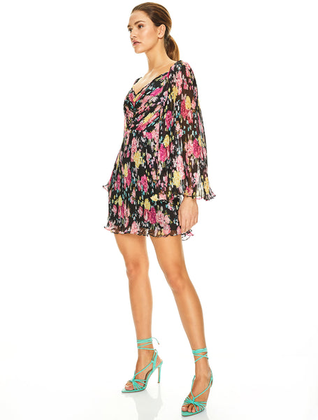 MIDNIGHT FIESTA MINI DRESS