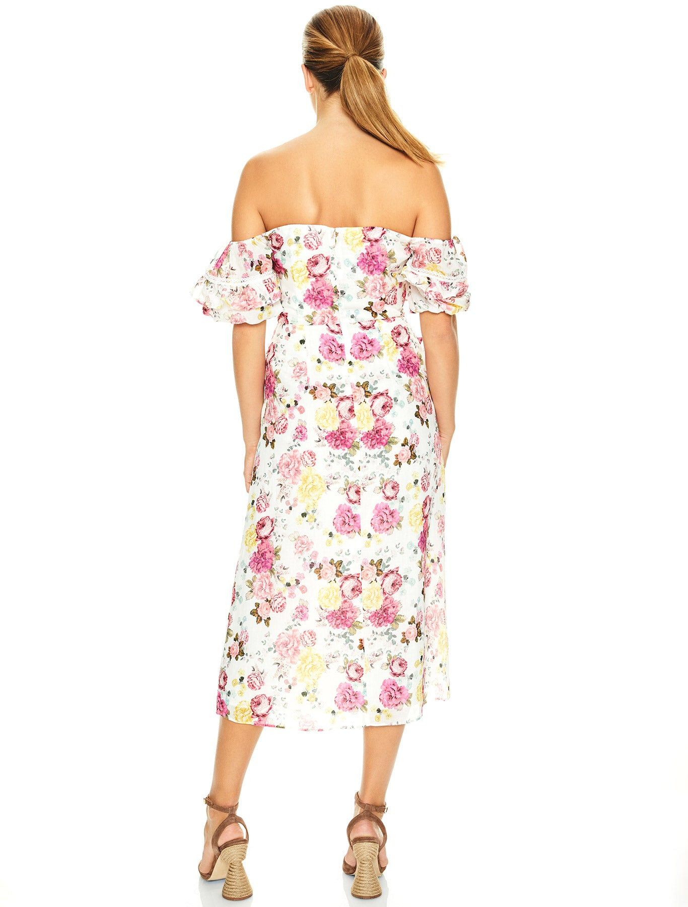 TEA TIME MIDI DRESS