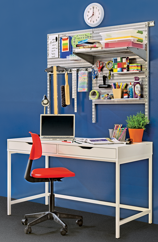 Enhance any Room with Pegboard Wall Organization