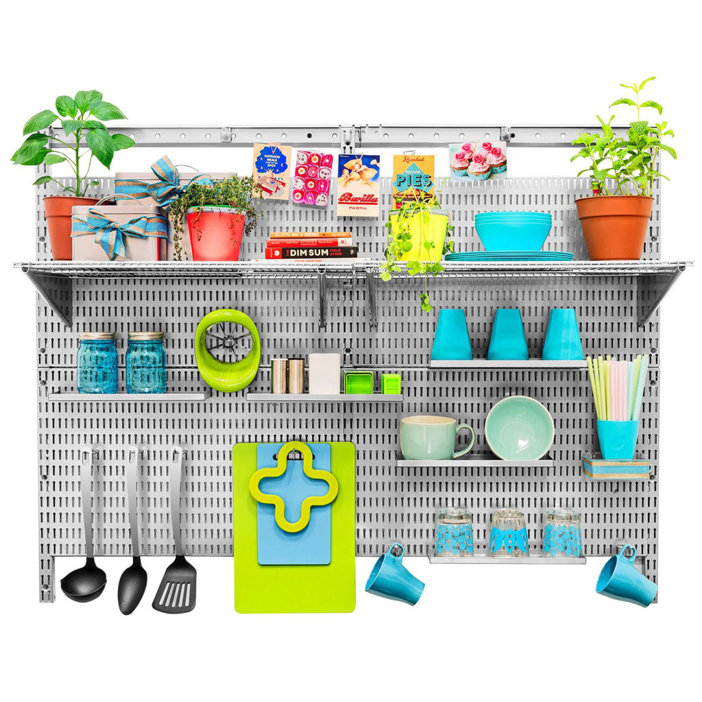 Maximize Your Minimal Kitchen Space with Wall Organizers