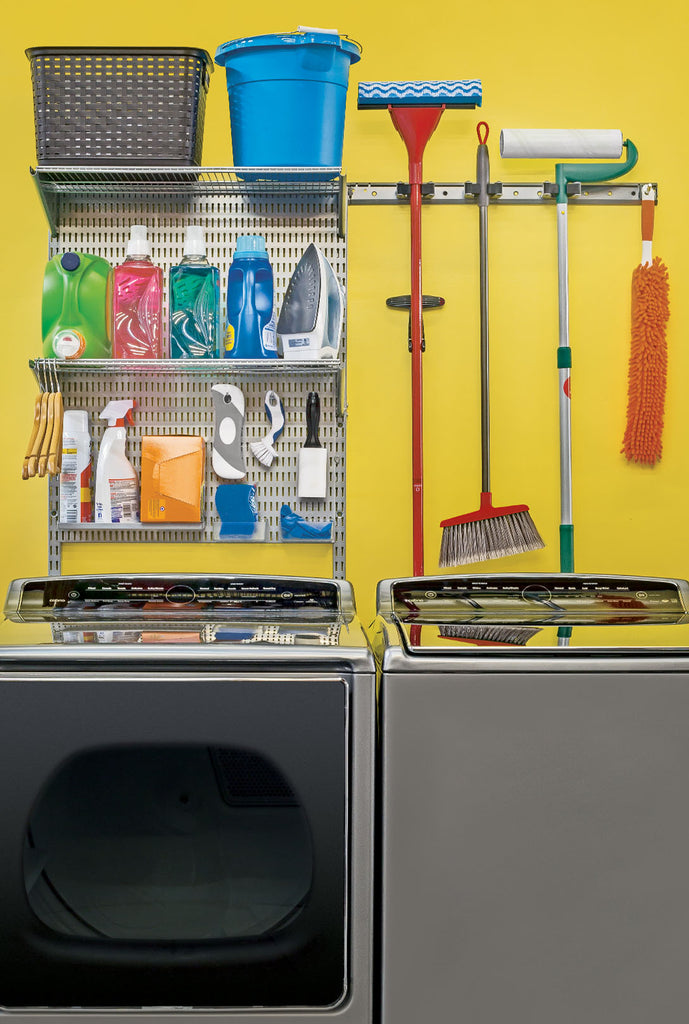 image of laundry room with allspace wall organizing system