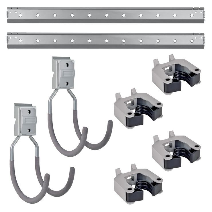 8 Piece Wall Mount Starter Kit
