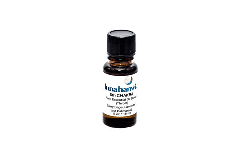 5th Chakra Essential Oil Blend (Throat)