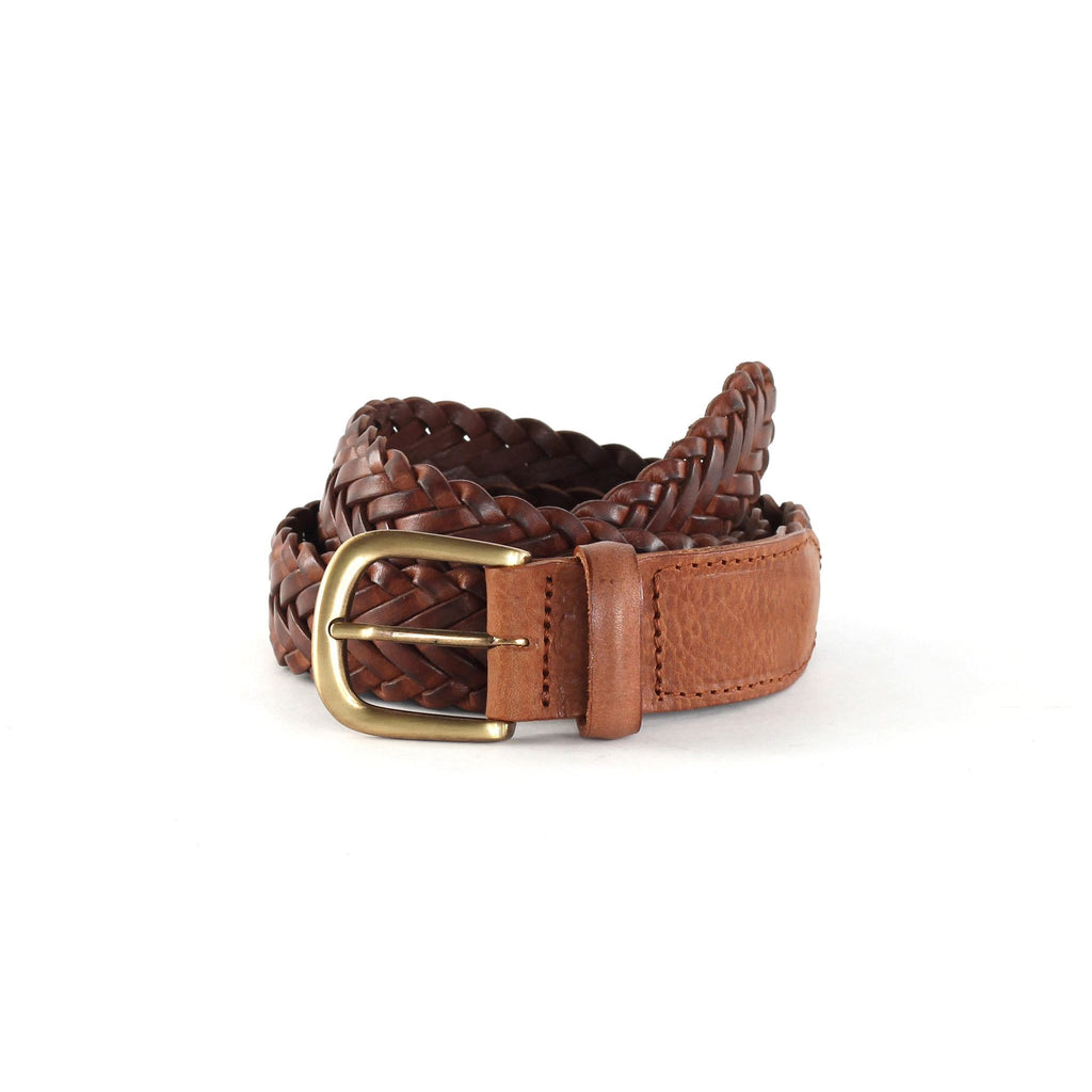 Royal Republiq Past Braided Belt - Cognac