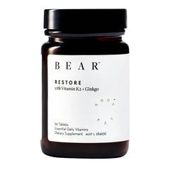 Bear | Restore Dietary Tablets | Vitamin K2 + Ginkgo