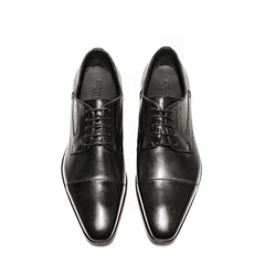 Conflict For Interest | Derby Lace-up Shoe | Black